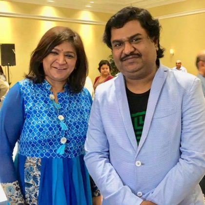 Chetna with Osman Mir Ji